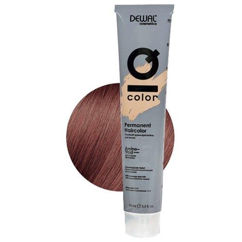 Фото - Dewal Cosmetics Краситель перманентный IQ COLOR, 6.15 dark ash rose blonde, 90 мл dewal перманентный краситель iq color 9 44