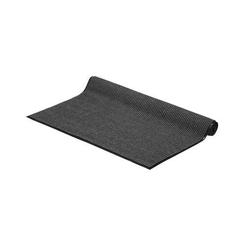 Придверный коврик VORTEX Влаговпитывающая ребристая, размер: 1.5х1.2 м, серый