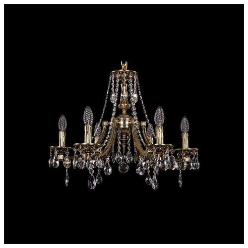 Фото - Люстра Bohemia Ivele Crystal 1771 1771/6/190/A/GB, 240 Вт люстра bohemia ivele 1771 6 150 a g