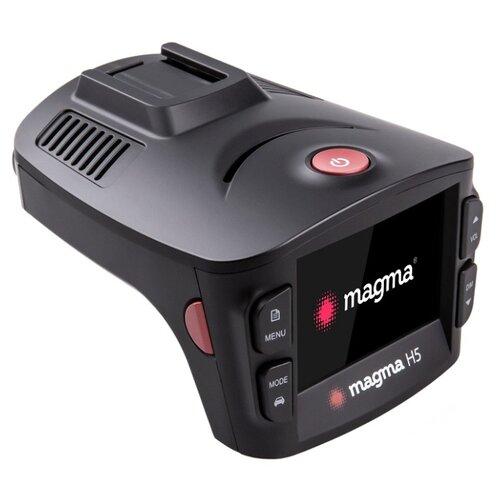 Видеорегистратор с радар-детектором Magma H5, GPS черный фото