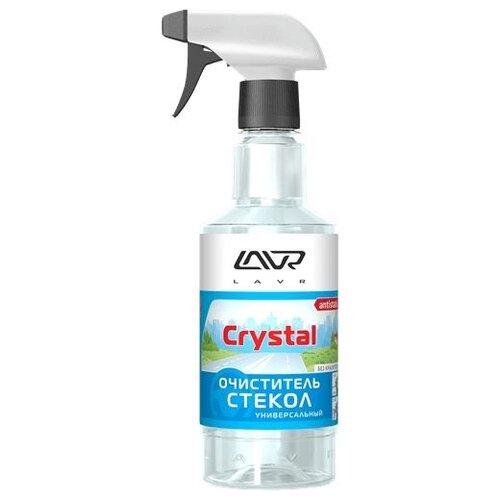 Очиститель для автостёкол Lavr Glass Cleaner Crystal Ln1601, 0.5 л