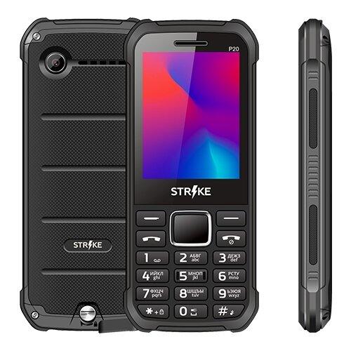 Телефон Strike P20 черный