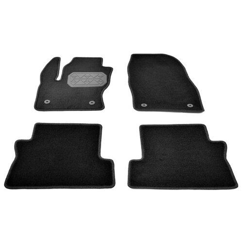 Комплект ковриков NorPlast NPA10-VTe220-402 Ford Kuga 4 шт. черный