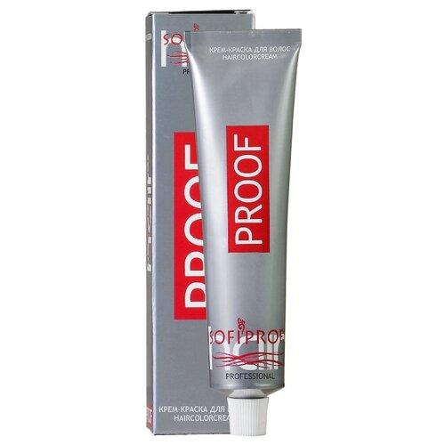 Sofiprofi Крем-краска для волос PROOF, 60 мл, 7.00 средне-русый интенсивный