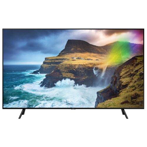 Фото - Телевизор QLED Samsung QE75Q77RAU 75 (2019) черный графит телевизор qled samsung qe49q77rau 49 2019 черный графит