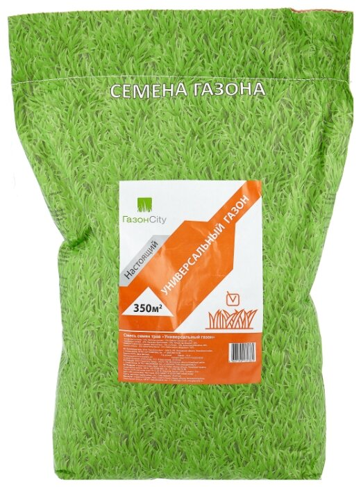 Смесь семян для газона ГазонCity Настоящий Универсальный газон, 10 кг