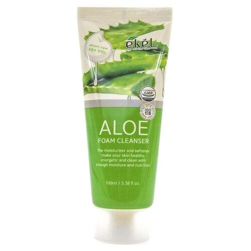 Купить Ekel пенка для умывания с экстрактом алоэ Aloe Foam Cleanser, 100 мл
