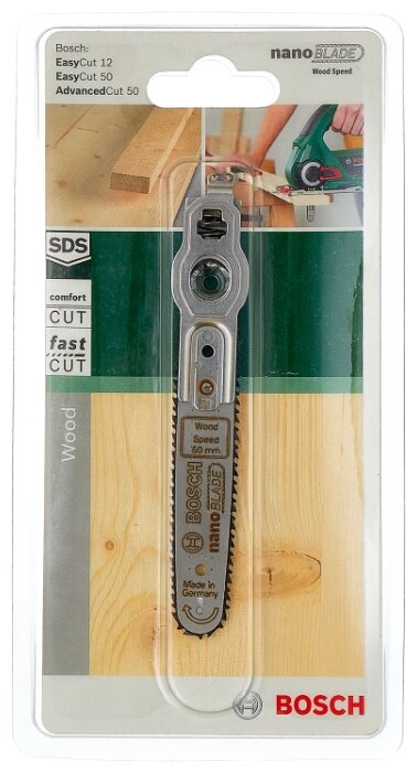 Пилка для лобзика BOSCH nanoBLADE Wood Speed 50