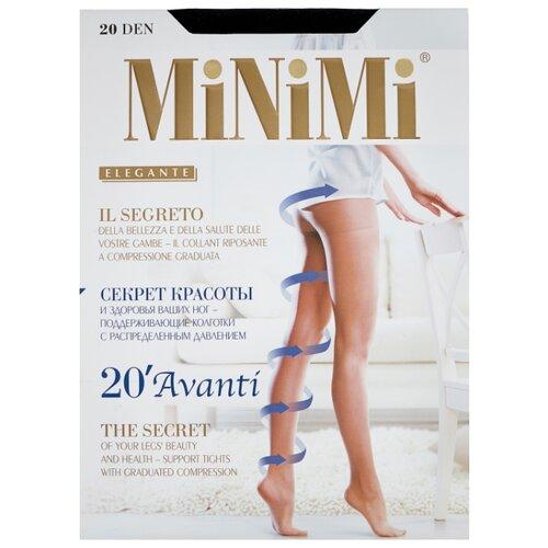 Колготки MiNiMi Avanti 20 den, размер 3-M, nero (черный) колготки minimi lanacotone 180 den размер 3 m nero черный