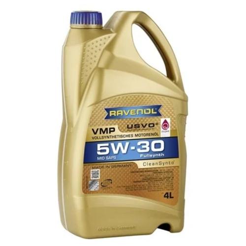 Синтетическое моторное масло Ravenol VMP SAE 5W-30, 4 л по цене 4 477