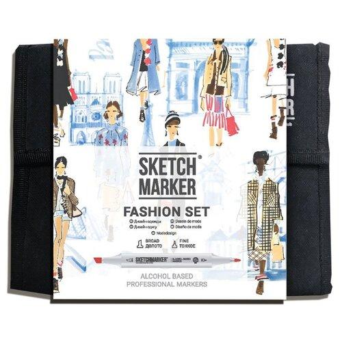 Купить SketchMarker Набор маркеров Fashion Set, 36 шт., Фломастеры и маркеры