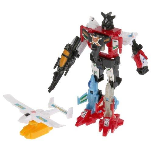 Купить Трансформер Play Smart Комбат 6в1 8017 красный/черный/белый, Роботы и трансформеры