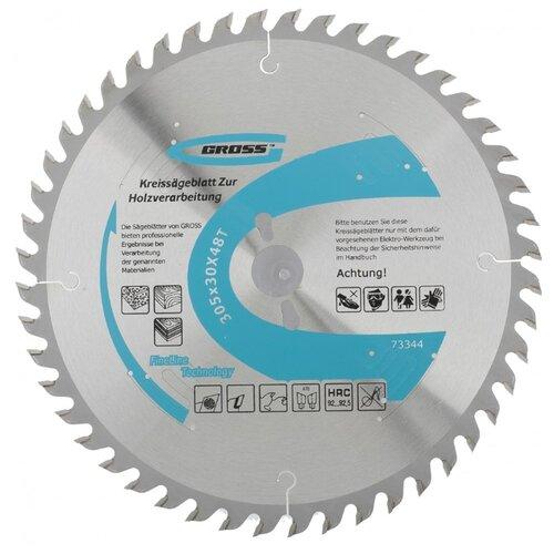 Пильный диск Gross 73344 305х30 мм пильный диск makita specialized b 29337 305х30 мм