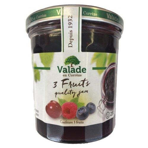 Джем Valade en Correze из малины, черники, вишни, банка 370 г фото