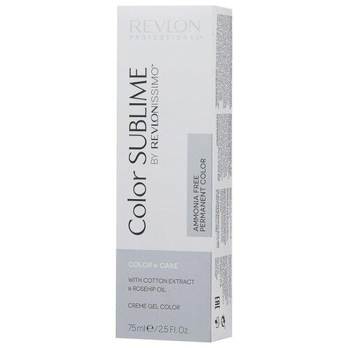 Revlon Professional Revlonissimo Color Sublime стойкая краска для волос, 75 мл, 6.65 темный блонд красно-махогоновый
