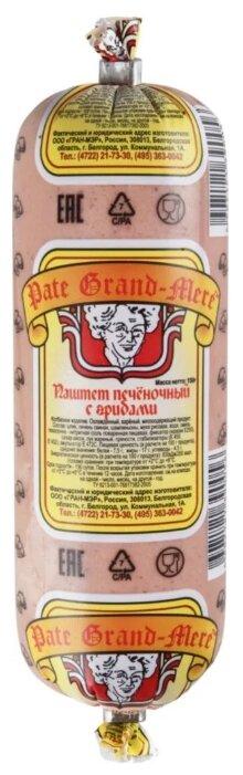 Pate Grand-Mere Паштет печеночный с грибами из свиной печени 150 г