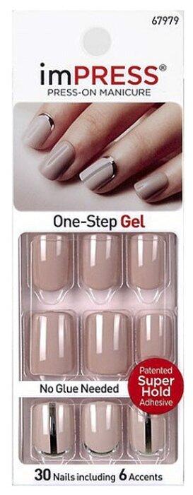 Накладные ногти imPress Press-on Manicure BIPA120 короткие