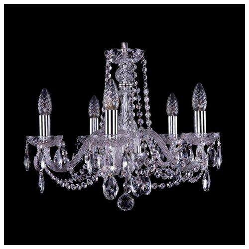 Люстра Bohemia Ivele Crystal 1402 1402/5/160/Ni, E14, 200 Вт люстра bohemia ivele crystal 1402 1402 4 160 g e14 160 вт