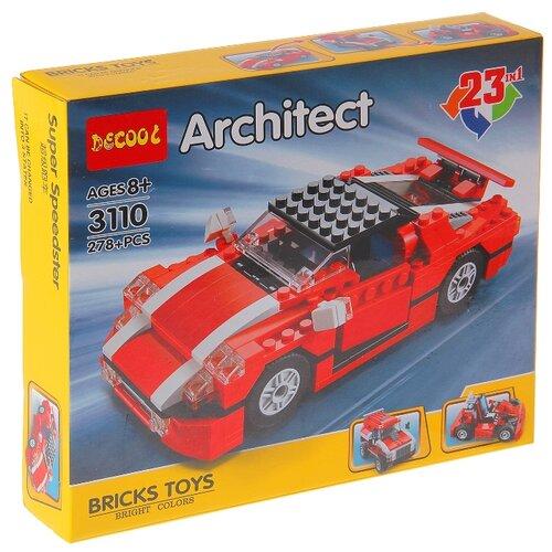 Конструктор Jisi bricks (Decool) Architect 3110 Супер спидстер
