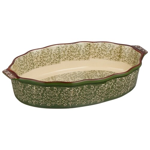 Форма для запекания керамическая Attribute Verde ABK106 (39х24х8 см) форма для запекания керамическая attribute verde abk102 30х20х6 5 см