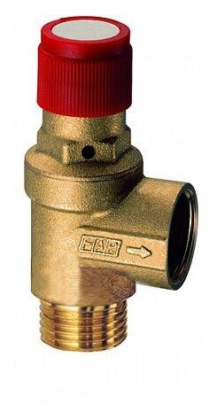 Предохранительный клапан FAR FA 2004 121260 муфтовый (ВР/НР), латунь, 6 бар, Ду 15 (1/2