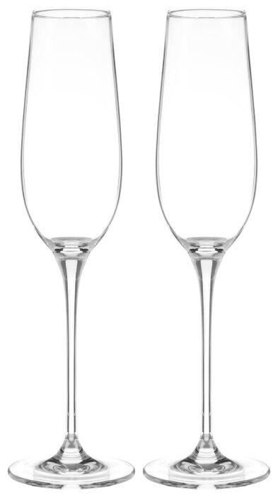 Wilmax Набор бокалов для шампанского Crystalline