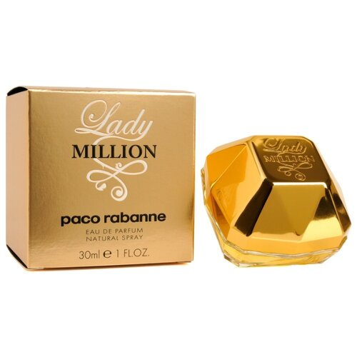 Парфюмерная вода Paco Rabanne Lady Million , 30 мл paco rabanne набор lady million