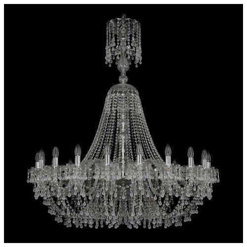 Люстра Bohemia Ivele Crystal 1410 1410/20/400/XL-130/Ni/V0300, E14, 800 Вт bohemia ivele crystal 1410 6 160 ni v0300 sh2