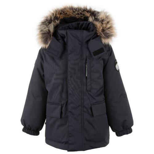 Купить Парка KERRY Snow K20441 размер 128, 987 антрацитовый, Куртки и пуховики