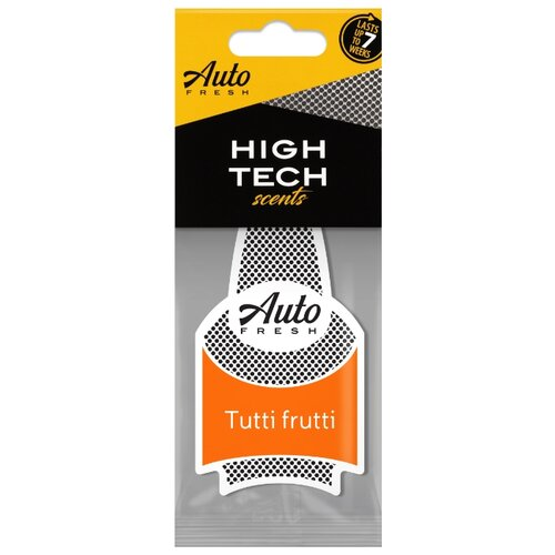 Auto Fresh Ароматизатор для автомобиля Dry High Tech Scents Tutti Frutti цена 2017