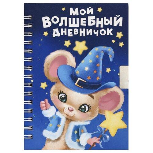 Блокнот Зимнее волшебство Волшебный дневничок А6, 40 листов (4184728)