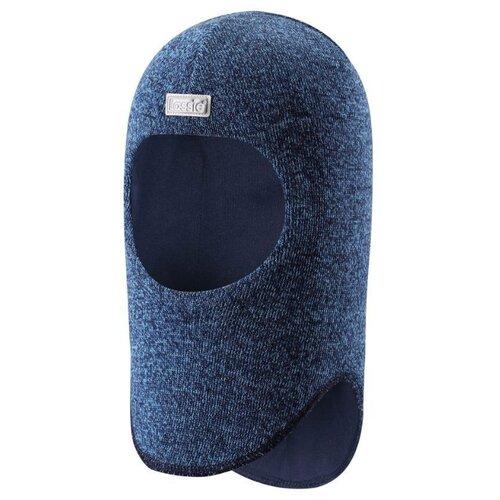 Купить Шапка-шлем Lassie размер 50, синий, Головные уборы