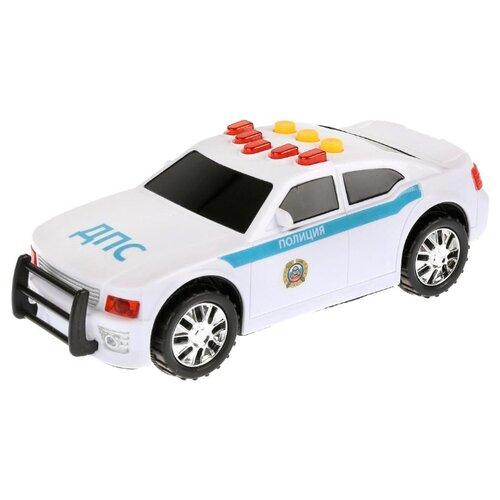 Купить Легковой автомобиль Играем вместе 6107-R2 19 см белый, Машинки и техника