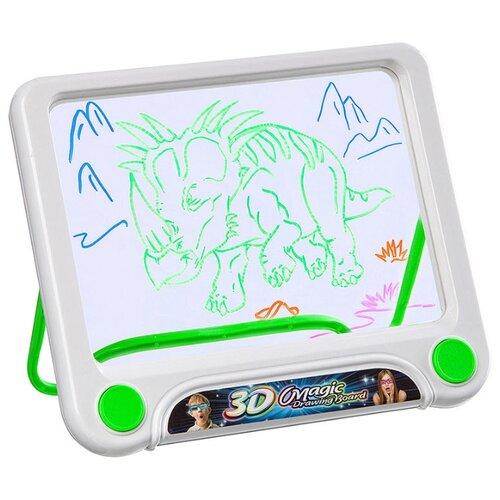 Купить Планшет для рисования светом детский Zabiaka 3D Магические рисунки белый, Доски и мольберты