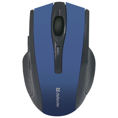 Беспроводная мышь Defender Accura MM-665, синий беспроводная мышь defender accura mm 665 usb red