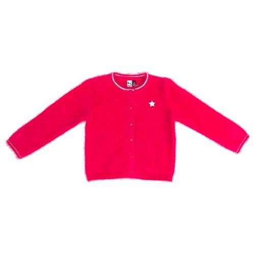 Купить Кардиган 3Pommes размер 104, розовый, Свитеры и кардиганы