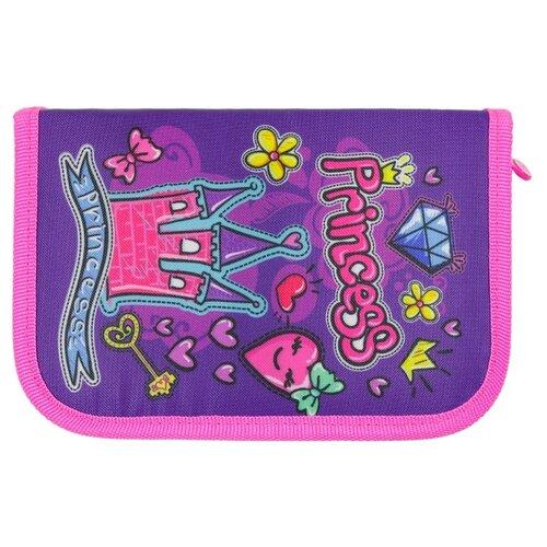 Mag Taller Пенал Princess розовый/фиолетовый