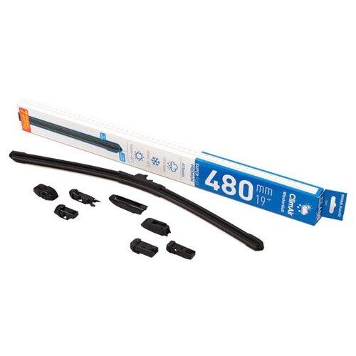 Щетка стеклоочистителя бескаркасная ClimAir CL-480 480 мм, 1 шт.