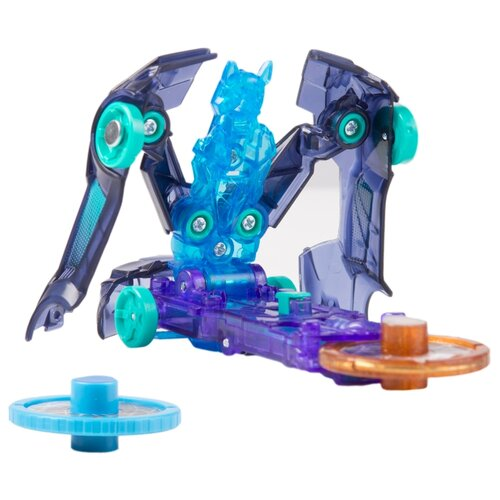 Интерактивная игрушка трансформер РОСМЭН Дикие Скричеры. Линейка 1. Найтбайт (34821) синий интерактивная игрушка трансформер росмэн дикие скричеры линейка 2 манкиренч 34825 красный