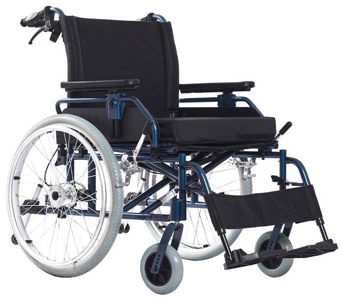 Кресло-коляска механическое Ortonica Base 120, ширина сиденья: 710 мм