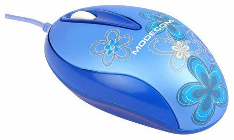 Мышь Modecom M2 Blue USB