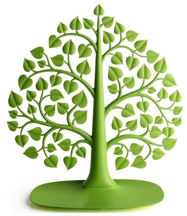 Подставка для украшений Qualy Bodhi, зеленый