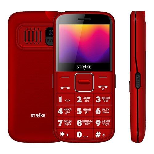 Телефон Strike S20 красный телефон