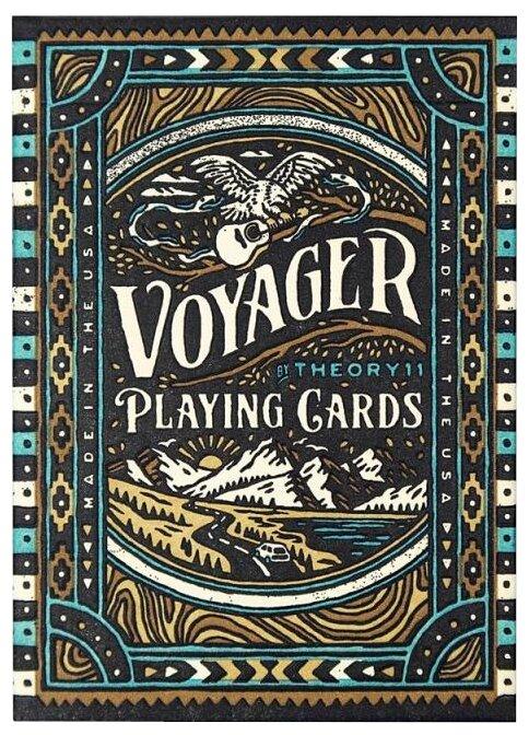 Карты для покера Theory 11 Voyager
