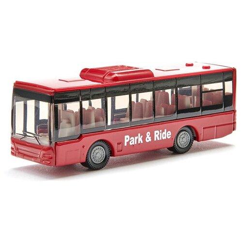 Купить Автобус Siku городской (1021) 1:55 9.7 см красный, Машинки и техника