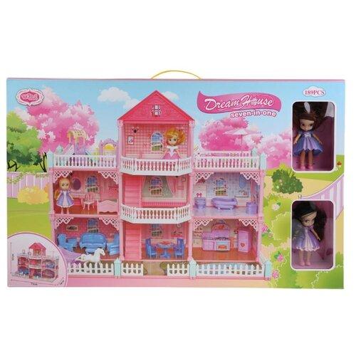 Shantou Gepai Dream House 1904Z437, розовый/белый набор посуды shantou gepai play house b1750458 розовый фиолетовый голубой