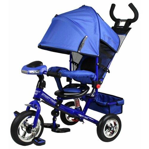 Купить Трехколесный велосипед Street trike A-03-E, синий, Трехколесные велосипеды