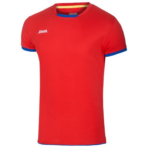 Купить Футболка Jogel размер YL, красный/синий, Футболки и топы