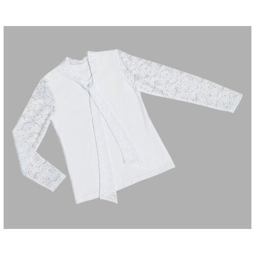 Блузка ALENA размер 140-146, белый