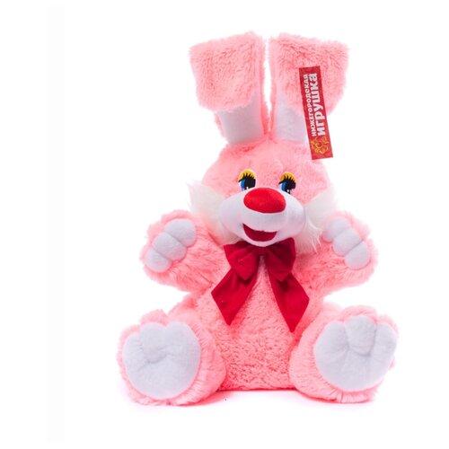 Мягкая игрушка Нижегородская игрушка Зайчик с бантиком игрушка